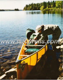 Preparing for a BWCA canoe trip